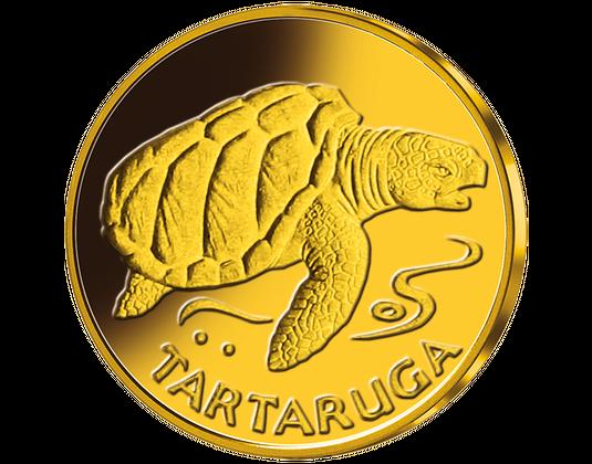 Eskudo ar bruņurupuci
