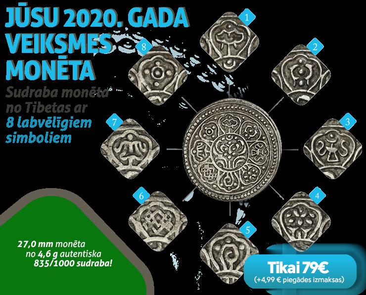 Jūsu 2020. Gada veiksmes monēta!