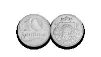 Autentisku latviešu monētu komplekts4