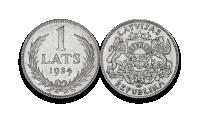 Autentisku latviešu monētu komplekts7