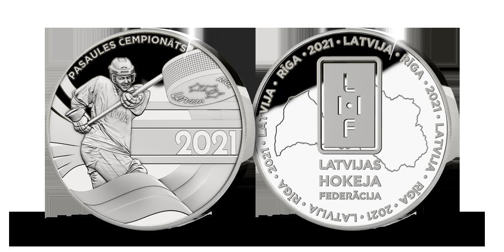 Latvijas hokeja līdzjutēju medaļa
