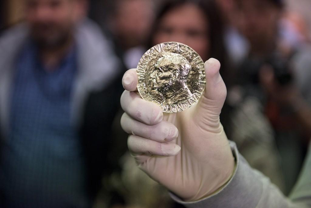 Izkalta īpaša Nobela Miera prēmijas medaļa