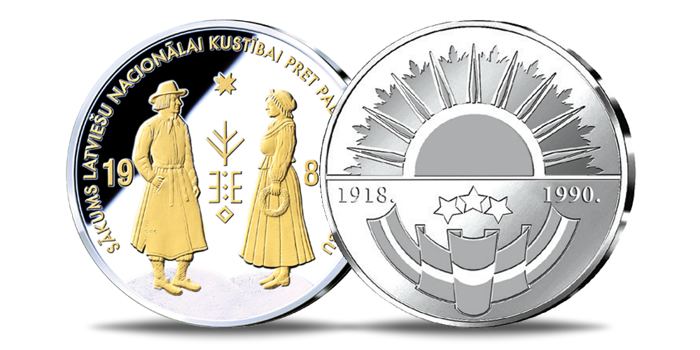 1986.gads – sākas nacionālās atbrīvošanās kustība Baltijas valstīs