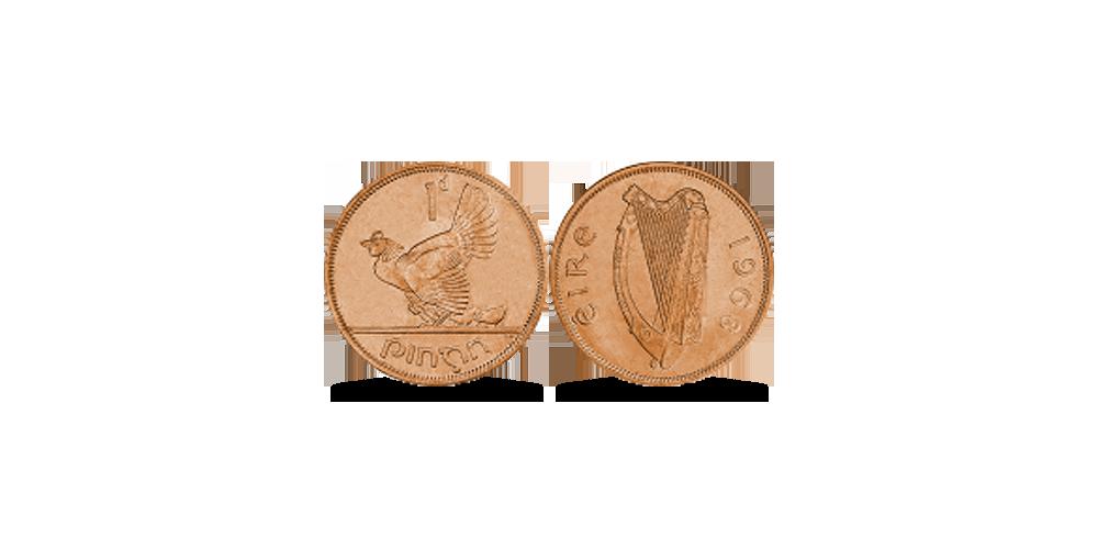 1 Īrijas cents (Penny)