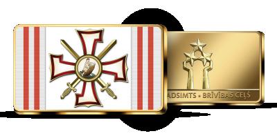 """Kolekcija """"Latvijas apbalvojumi 1918−1940"""", pirmais izstrādājums - """"Lāčplēša Kara Ordenis"""""""