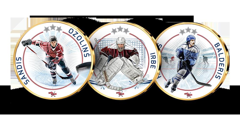 """Kolekcija """"Latvijas hokeja zelts"""""""