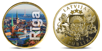 """Kolekcija """"Latvijas lielākās pilsētas"""": Rīga un Daugavpils"""