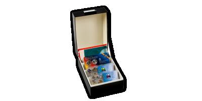 LOGIK kastīte izstrādājumu glabāšanai 170 x 120 mm iepakojumos