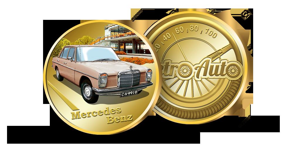 "Kolekcija ""Retro Auto"", Mercedes Benz"