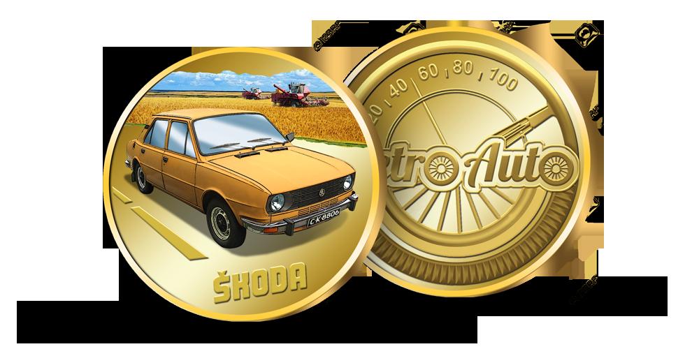 """Kolekcija """"Retro Auto"""", Skoda"""