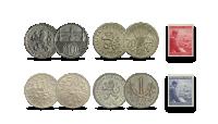 """Autentisku monētu komplekts """"Bohēmija un Morāvija"""""""