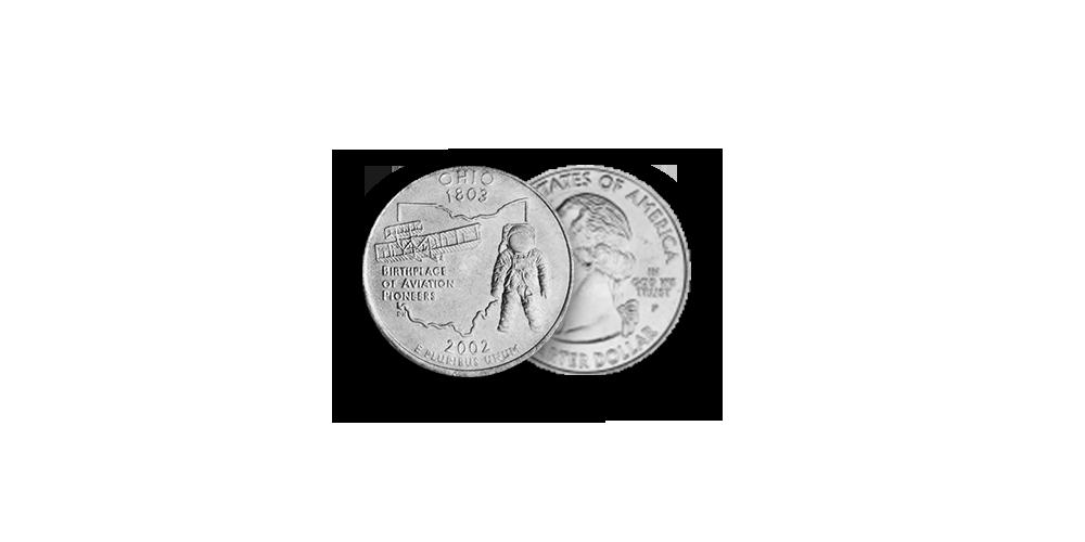 """Autentisku monētu komplekts """"Kosmosa iekarošana""""8"""