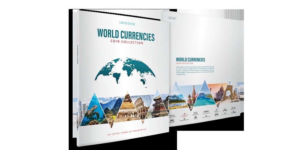 """Monētu komplekts """"Pasaules nauda"""""""