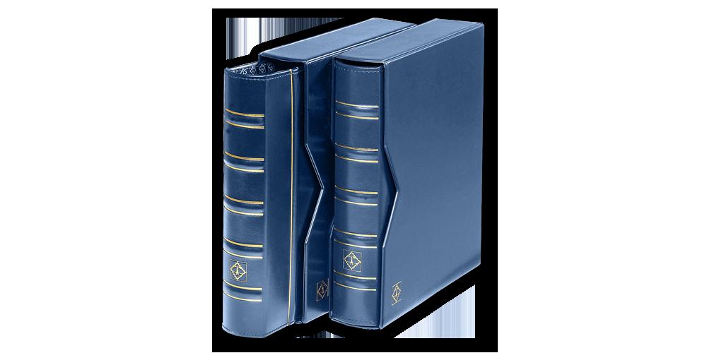 optima-klasiskais-kolekcionara-albums-ar-ietvaru-zils