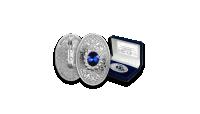 Karaliskā monēta-piespraude