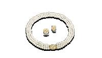 Princeses Diānas iedvesmota pērļu virtene