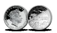 """Sudraba monēta """"Denkerkas kaujas 80. gadadiena"""""""