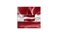 """Sudraba monēta """"Latvijas karogs"""" 2"""