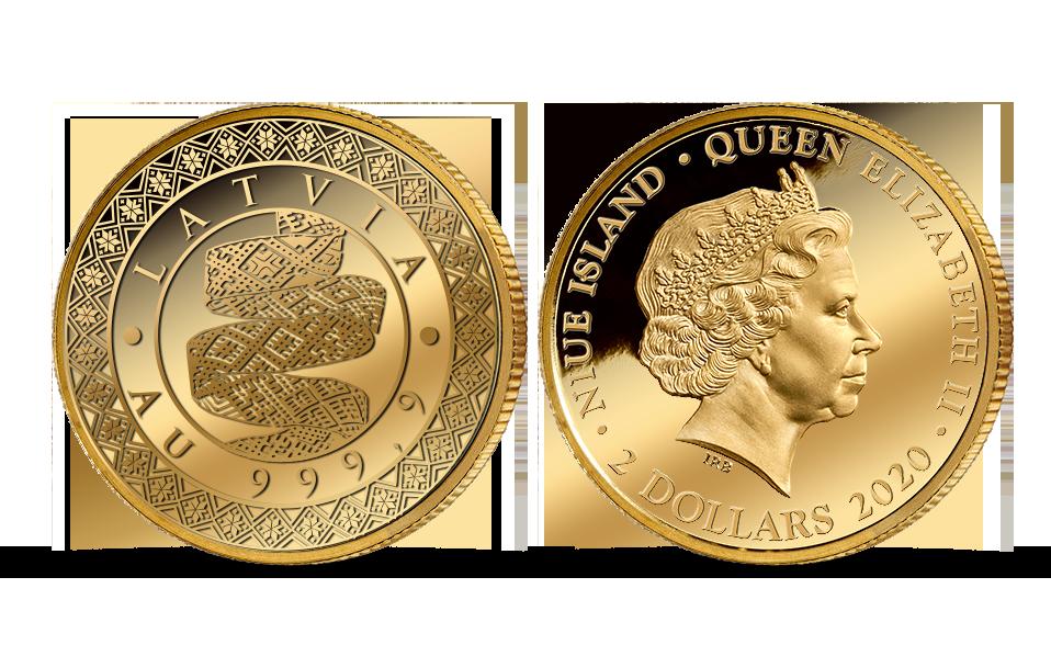 Tīra zelta monēta