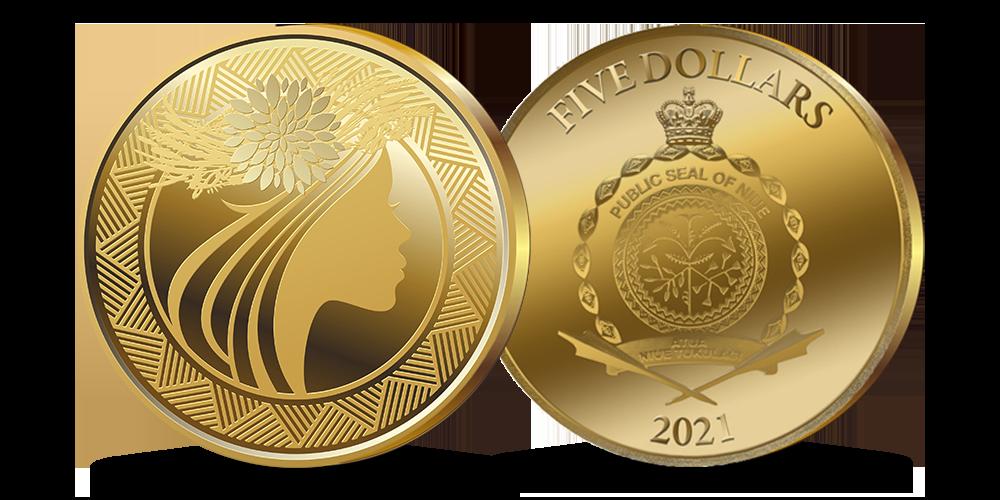 """Tīra zelta monēta """"Līgo svētki""""vetki-lp"""