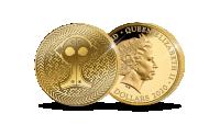 "Tīra zelta monēta ""Pūces sakta"""