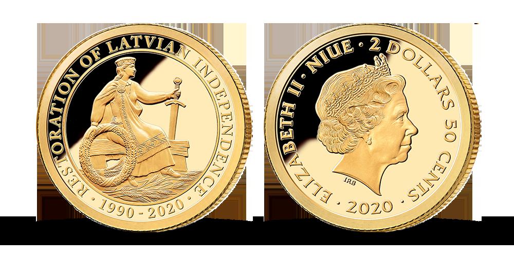 """Tīra zelta monēta """"Tautu meita"""""""