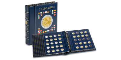 VISTA 2 eiro monētu albums