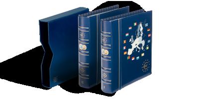 VISTA eiro monētu albums: 1.+2. sējums