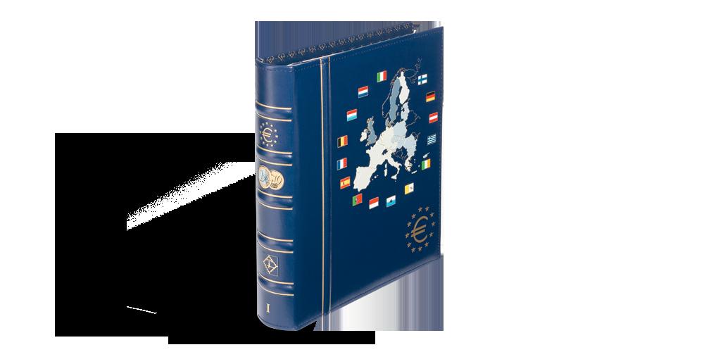 VISTA eiro monētu albums: 1. sējums