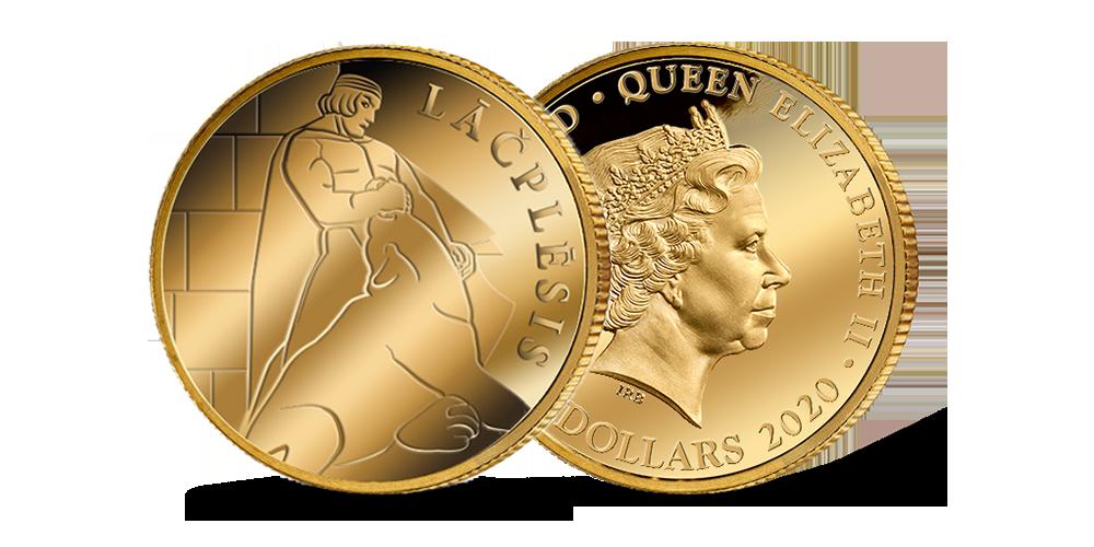 "Tīra zelta monēta – ""Lāčplēsis"""