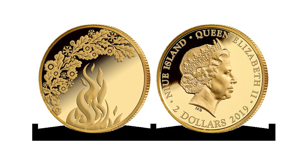 """Zelta monēta """"Līgo svētki"""""""