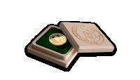 Monēta no Ziemassvētku vecīša zelta